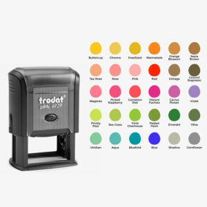 Color Self Inking Stamp